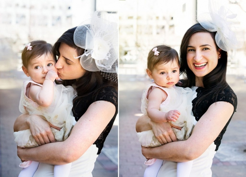 Oriana Photography - Baptism Chicago Evanston family photographer