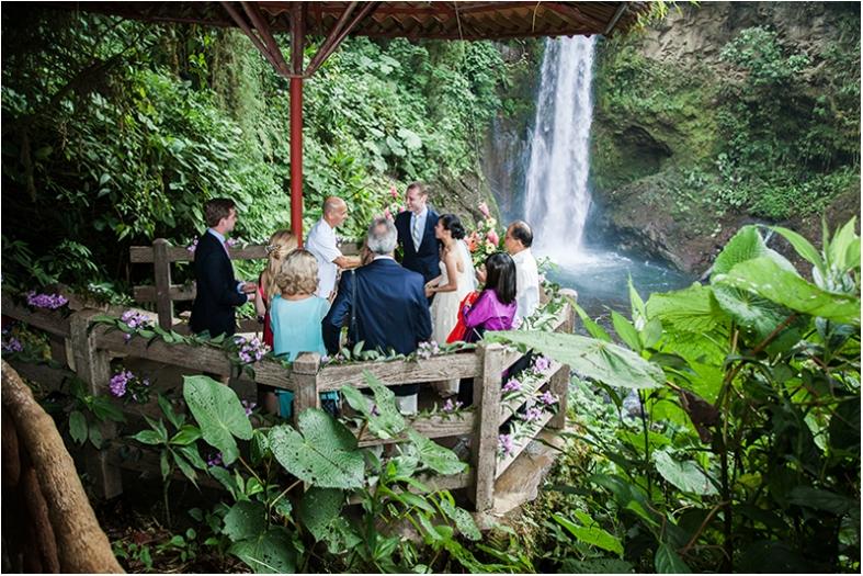 La Paz Waterfall Gardens Wedding 83